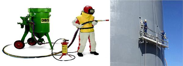 Sandblasting & painting Services